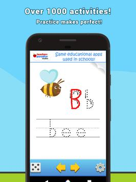 ABC Flash Cards Game for Kids & Adults apk screenshot