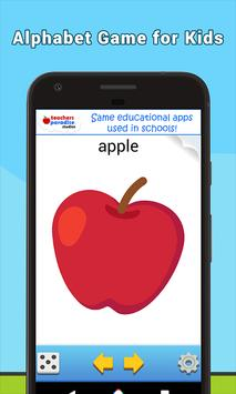 ABC Flash Cards Game for Kids & Adults screenshot 2
