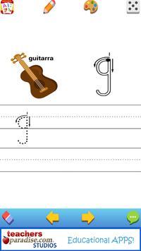 Alfabeto - Spanish Alphabet Game for Kids & Adults apk screenshot