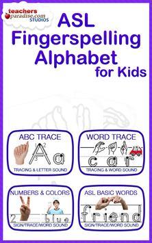 ASL American Sign Language poster
