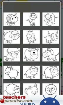 Farm Animals Coloring Book apk screenshot
