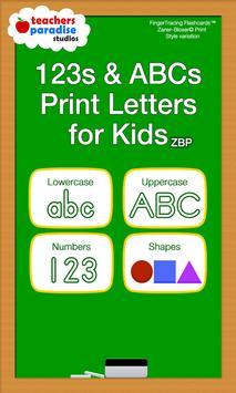 123s ABC Kids Handwriting Game poster