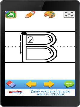 123s ABC Kids Handwriting Game apk screenshot