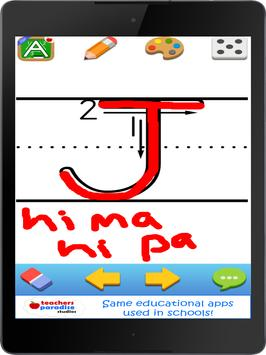 123s ABC Handwriting Game for Kids & Adults apk screenshot