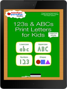 123 ABC Kids Handwriting HWTP Apk Screenshot