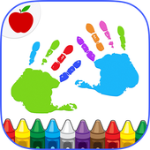 Kids Finger Painting Coloring icon