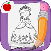 Easy Draw: Learn How to Draw a Princesses & Queens icon
