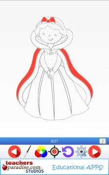 Easy Draw: Learn How to Draw a Princesses & Queens screenshot 1