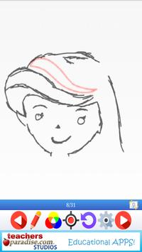 Easy Draw: Learn How to Draw a Princesses & Queens screenshot 5