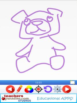 Learning to Draw Game for Kids & Adults apk screenshot