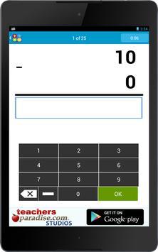 Math Practice Flash Cards screenshot 9