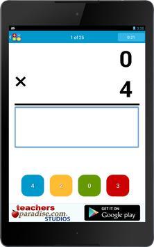 Math Practice Flash Cards screenshot 10