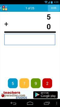 Math Practice Flash Cards screenshot 2