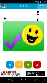 Math Practice Flash Cards screenshot 3