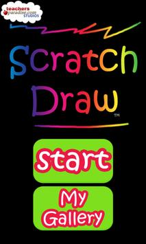 Scratch Draw Art Game poster