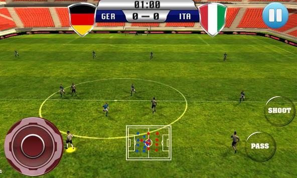 Real Football 2015 Free Game screenshot 4