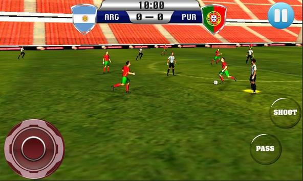 Real Football 2015 Free Game screenshot 6