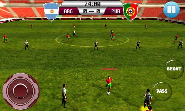 Real Football 2015 Free Game screenshot 3