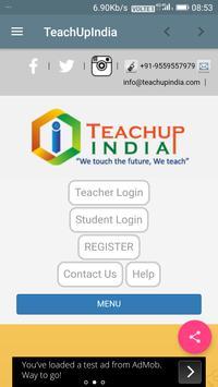 Teach Up India - Find Your Private Teacher/Mentor apk screenshot