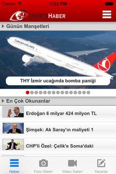İzmir'e Haber poster