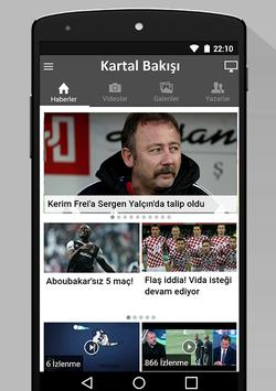 Kartal Bakışı - Beşiktaş poster