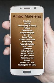 Lagu Bugis Ambo Maleleng poster