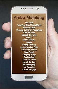 Lagu Bugis Ambo Maleleng apk screenshot