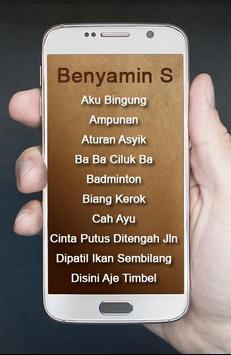 Lagu Benyamin S Terbaik poster