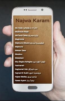 Lagu Arab Najwa Karam Terbaik screenshot 6
