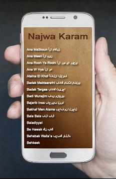 Lagu Arab Najwa Karam Terbaik screenshot 1