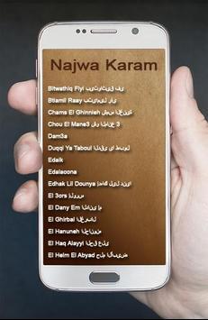 Lagu Arab Najwa Karam Terbaik screenshot 2