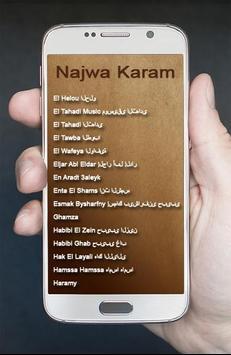 Lagu Arab Najwa Karam Terbaik screenshot 3