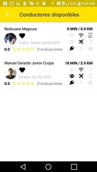 TaxiCamel Pasajero screenshot 5