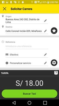 TaxiCamel Pasajero apk screenshot