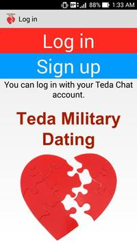 Teda Military Dating & Love poster