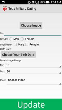 Teda Military Dating & Love apk screenshot