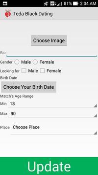 Teda Black Dating & Love apk screenshot
