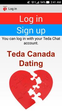 Teda Canada Dating Application poster
