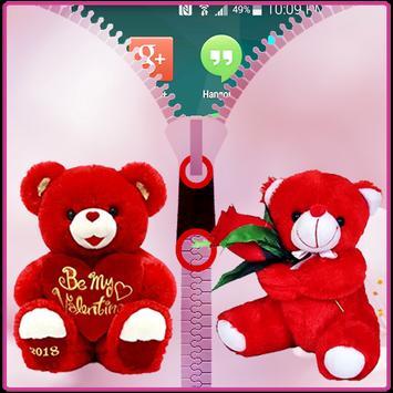 Teddy Bear Zipper Lock screenshot 5