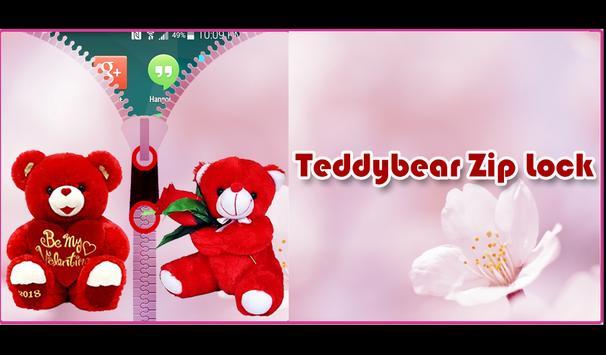 Teddy Bear Zipper Lock screenshot 7