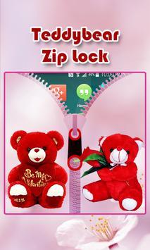 Teddy Bear Zipper Lock screenshot 2