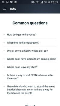 TEDxCERN apk screenshot
