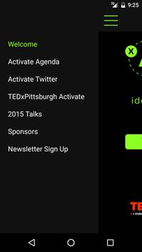Activate for TEDxPittsburgh poster