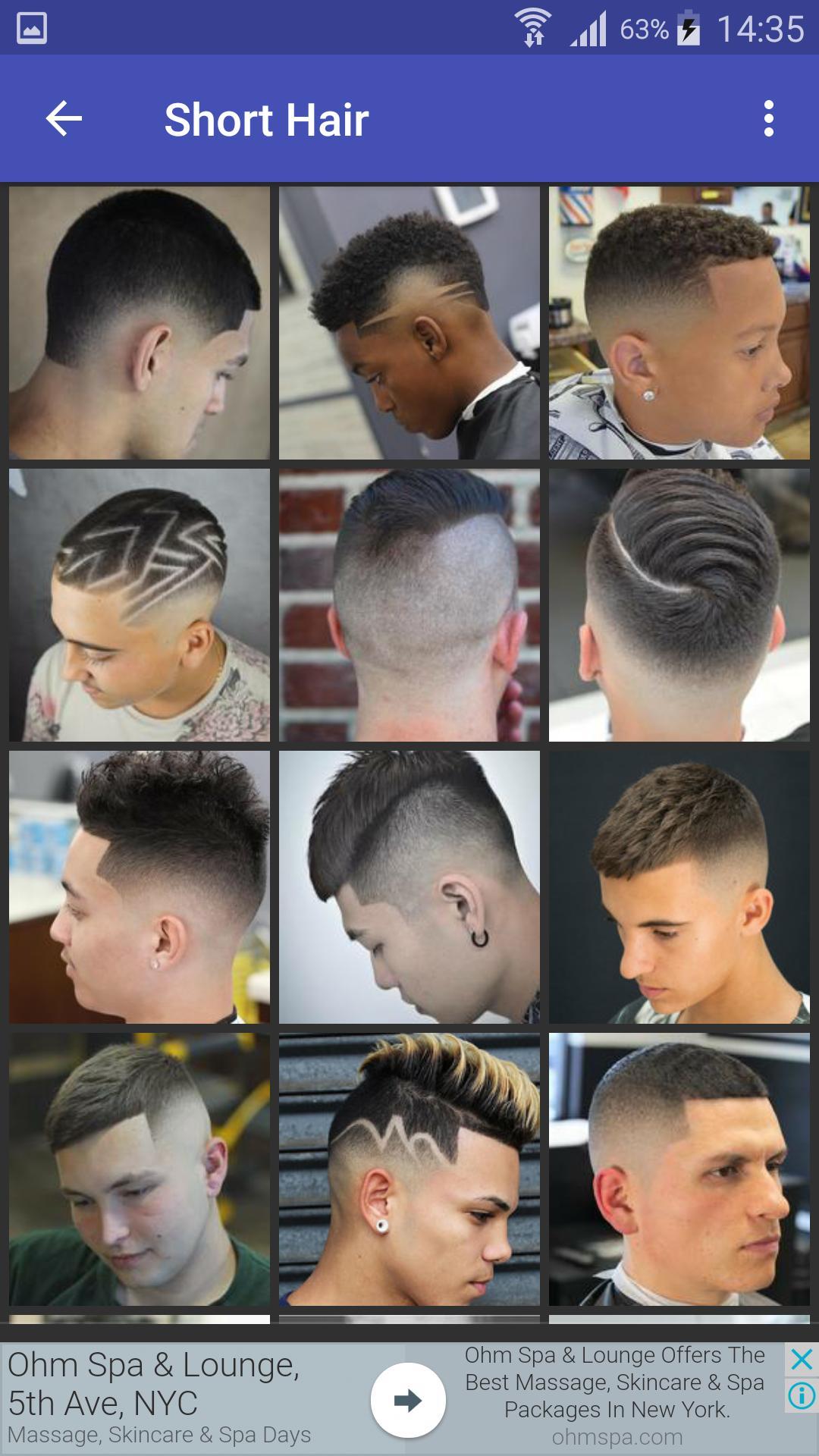 Teen Boys Hairstyles für Android   APK herunterladen