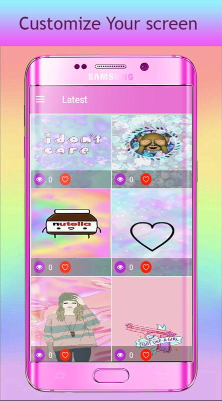 Wallpaper Kawaii Yang Lucu Remaja Girly For Android Apk Download