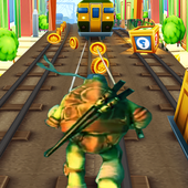 Turtles Subway Ninja Jump icon