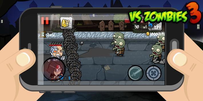 VS Zombies 3 apk screenshot
