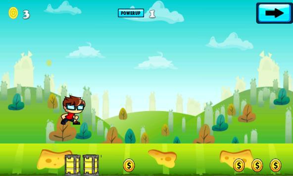 Jungle Boy Castle Run Mania poster