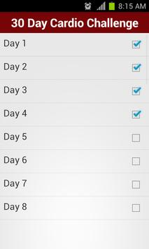 30 Day Cardio Challenge FREE Apk Screenshot