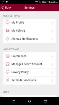 Fitcar™ powered  by Jiffy Lube screenshot 4